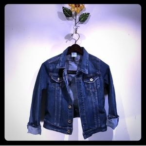 Dark Denim Jacket - Jean Jacket